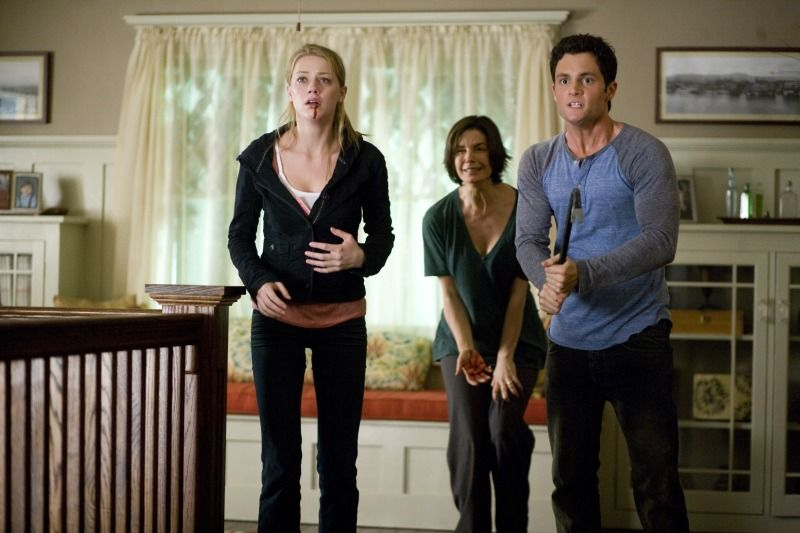 Amber Heard Penn Badgley And Sela Ward In The Stepfather 2009 The Stepfather Download Tv Shows Penn Badgley