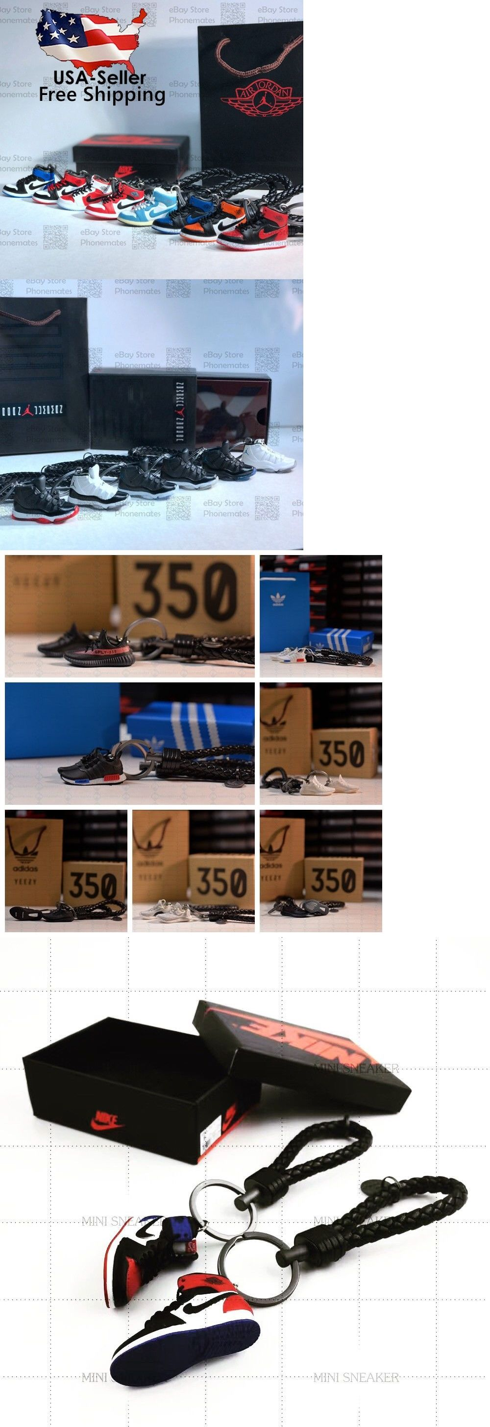 new style 235b3 b25d2 Key Chains Rings and Cases 52373  Kicksmini Air Jordan Yeezy Handcrafted 3D  Sneaker Keychain With Box Bag Gift Set -  BUY IT NOW ONLY   15.99 on  eBay  ...