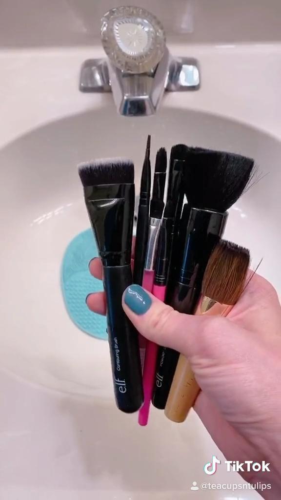 Video How To Clean Your Makeup Brushes Trik Makeup Kecantikan