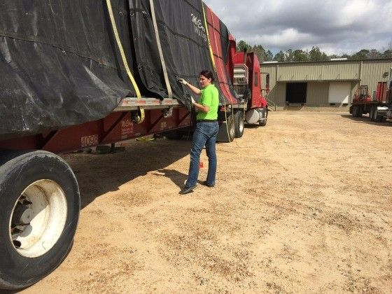 Meet Jaimie Mechigian, she's the only female truck driver at