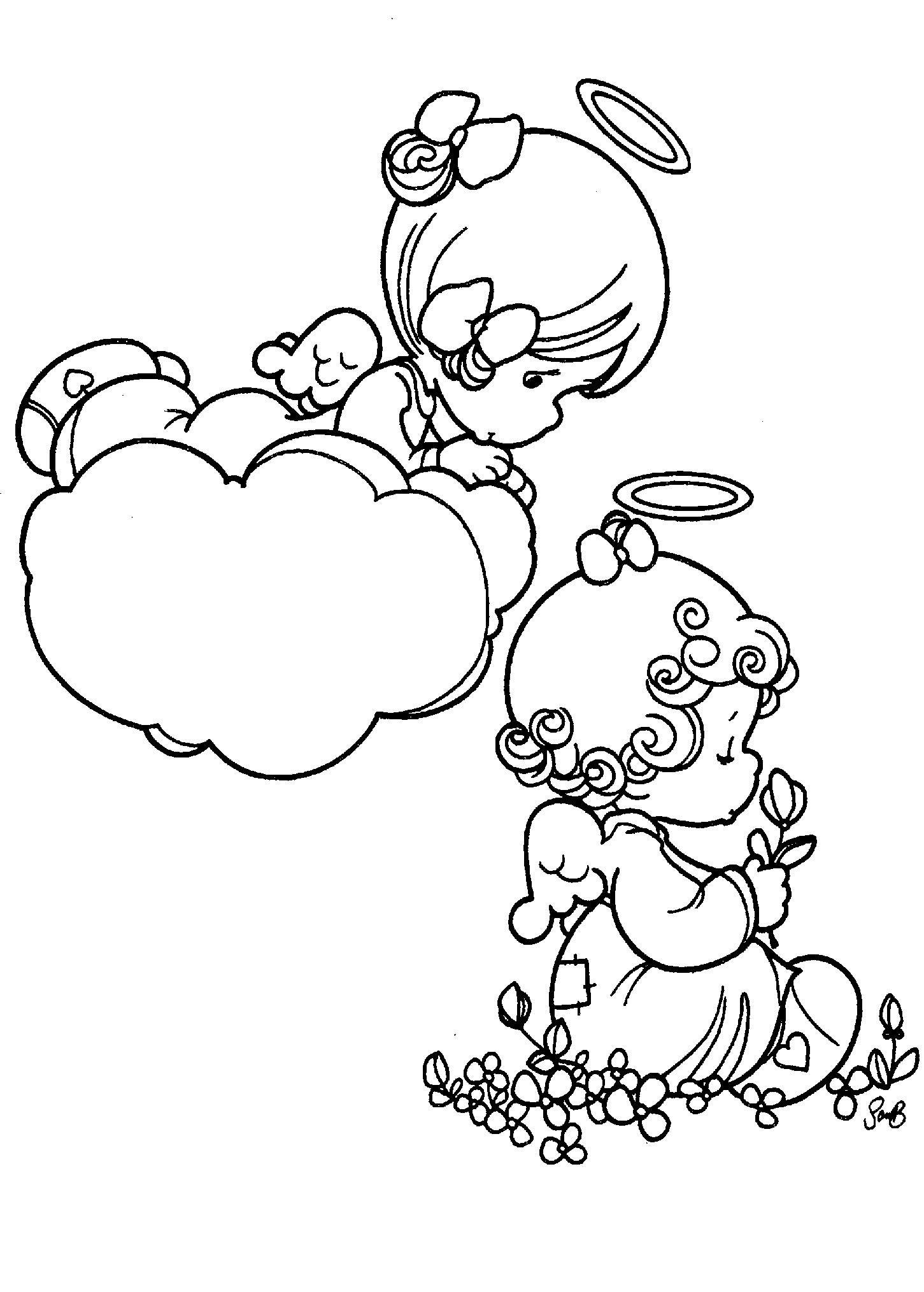 Precious moments love coloring pages colring colorir desenhos