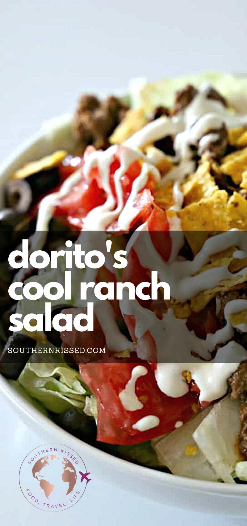 Dorito's Cool Ranch Salad at Home