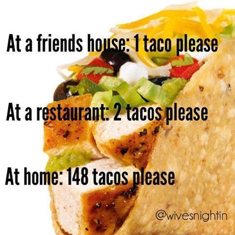 Taco Tuesday humor, funny … | Tacos | Pinterest | Tuesday ...