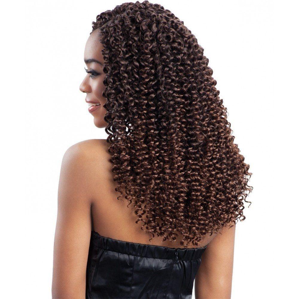 Freetress Braid Crochet Hair Water Wave Bulk 12