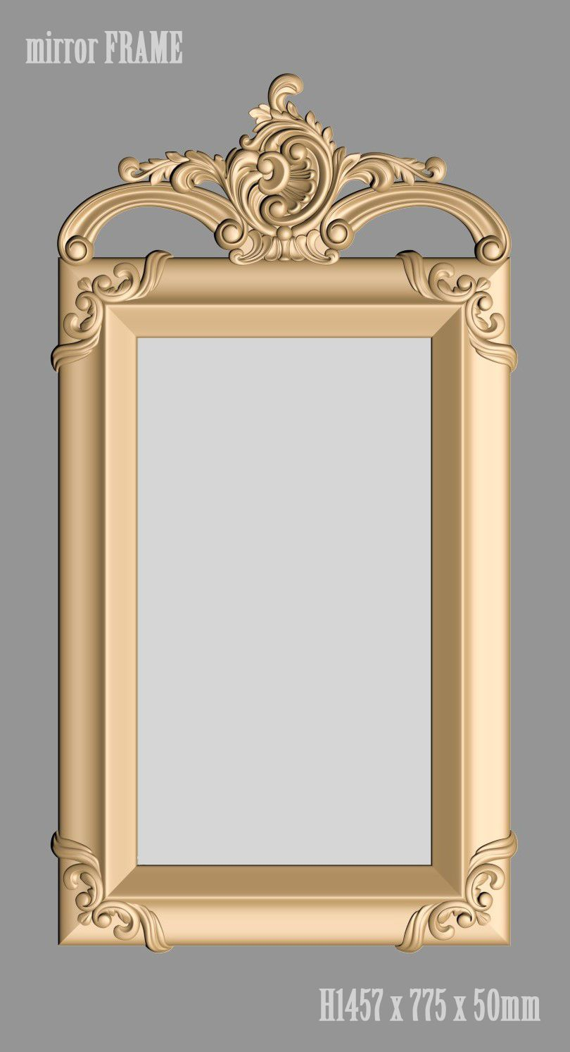 A1068. Mirror FRAME 3d models | arts in 2018 | Pinterest | Frame ...