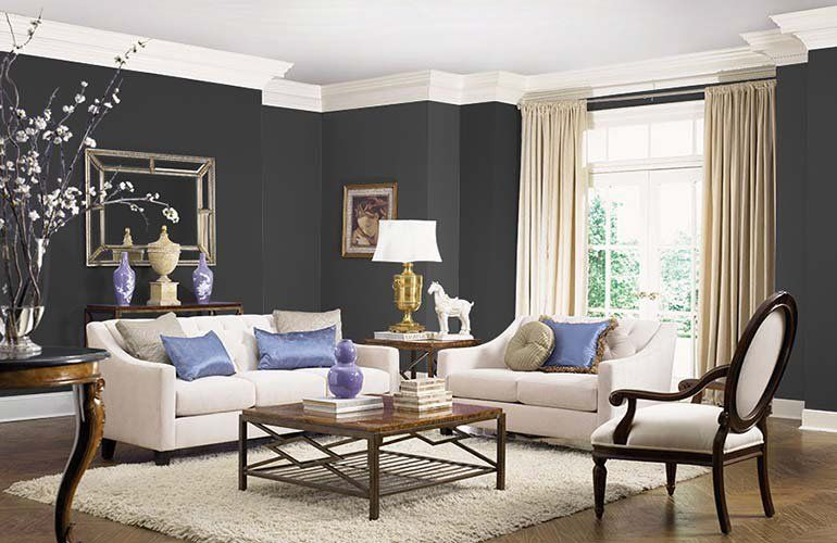Hottest Interior Paint Colors Of 2018 Living Room Paint Living Room Wall Color Paint Colors For Living Room