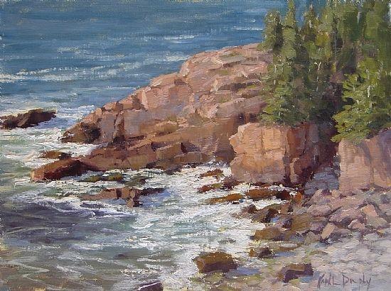 Glorious Acadia by Kathleen Dunphy Oil ~ 12 x 16