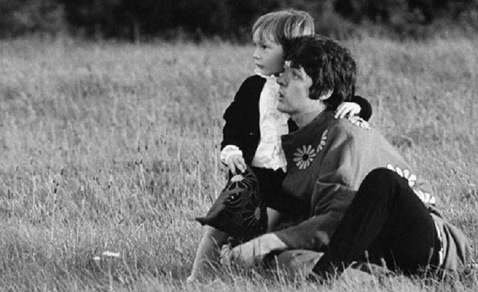 Paul McCartney With Julian Lennon
