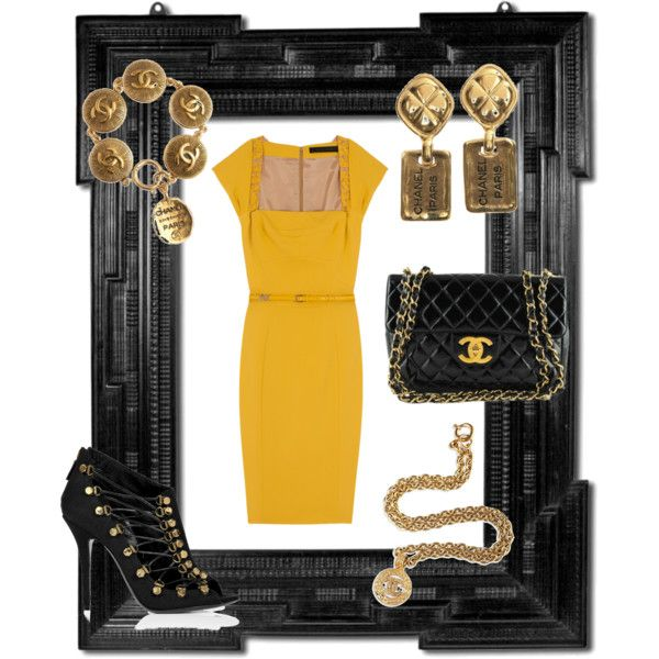 Busy Bee, created by vicki-mcdowell on Polyvore