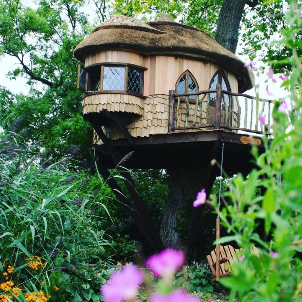 Enchanting Creative Tree House Design On Big Tree | OUTDOOR ALL ...