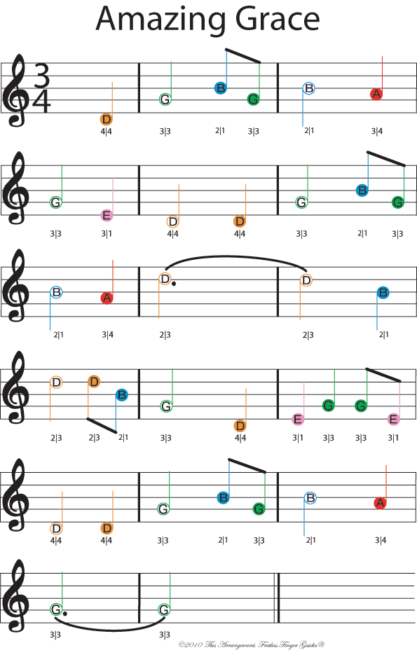 Beginner Violin sheet music - Twinkle Twinkle little star