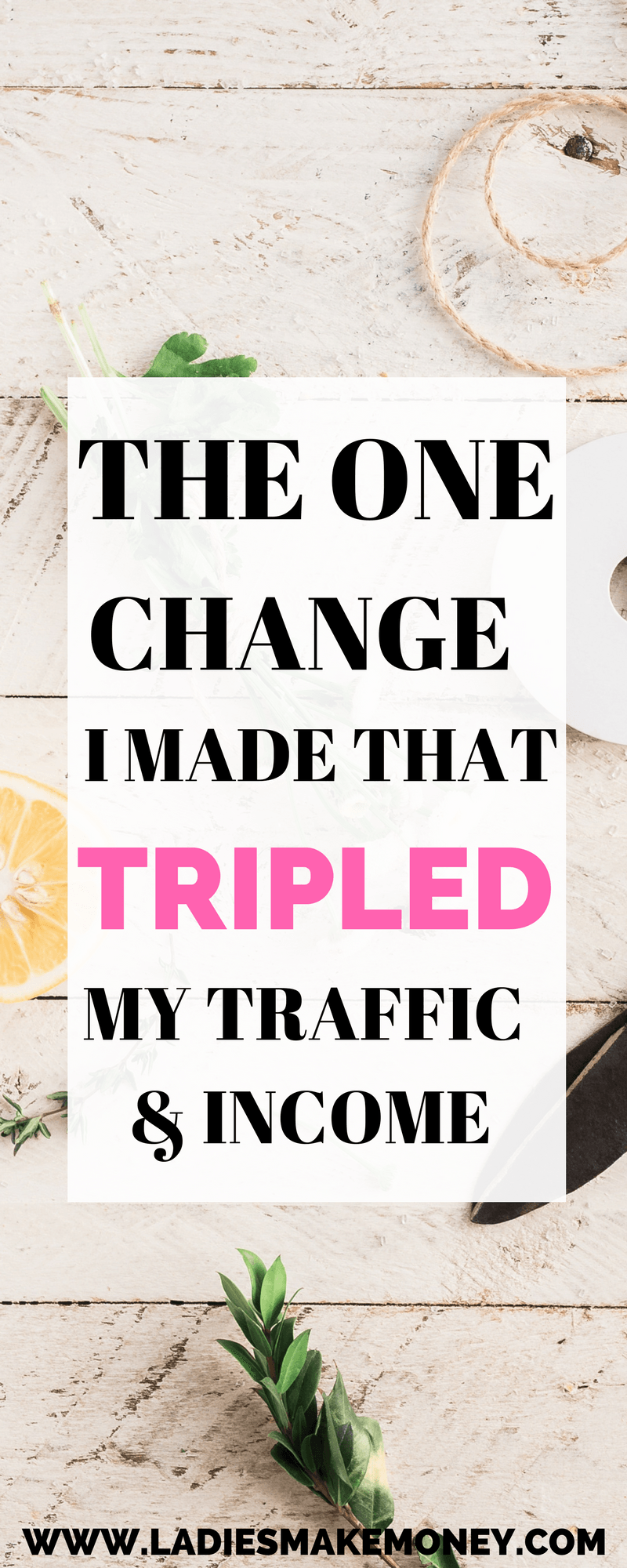 The one change I made that tripled my blog traffic