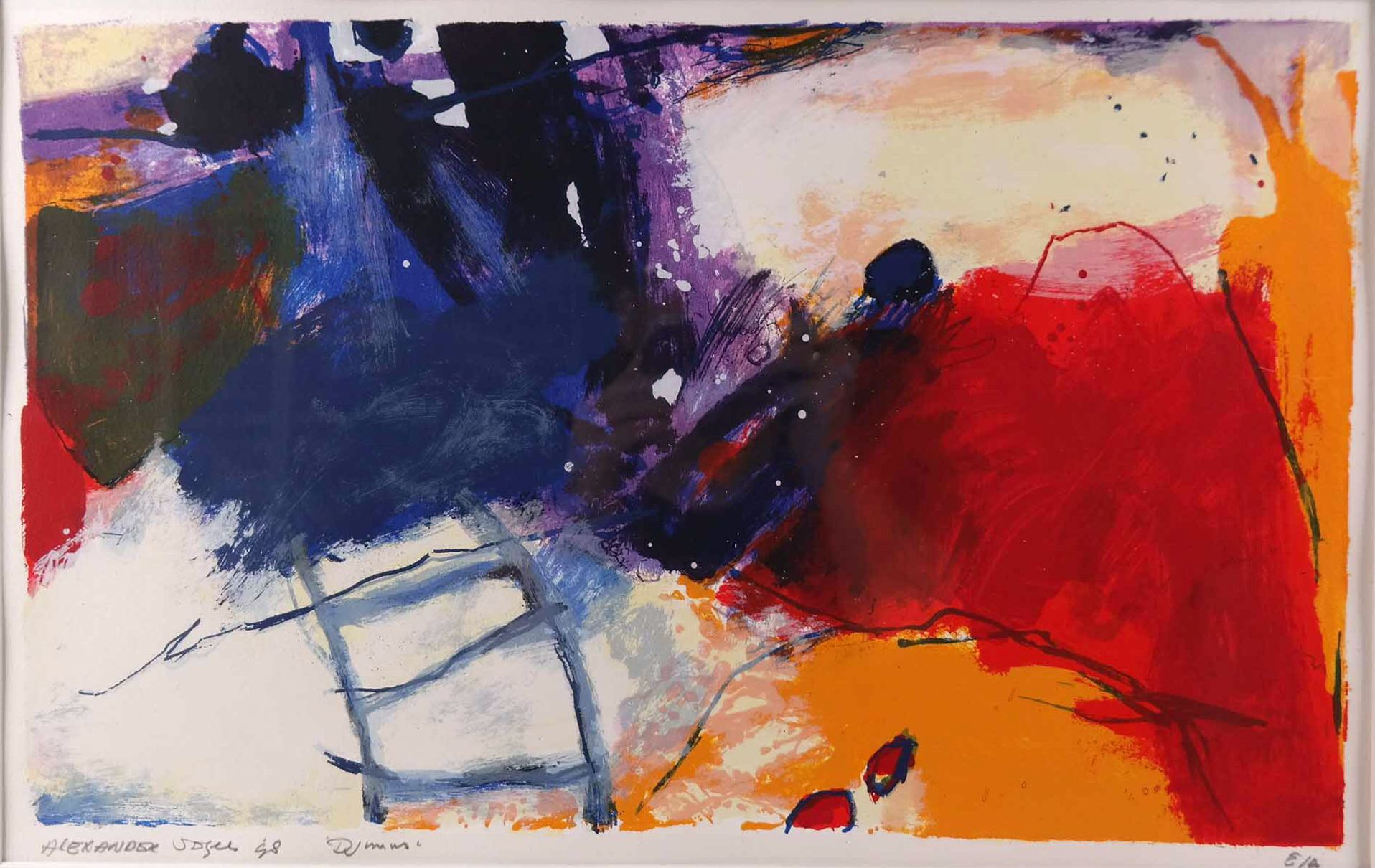 Alexander Vogels 1952 Djinns Vogels Studeerde Aan De Academie Voor Beeldende Kunsten In Maastricht Hij Wordt Als E Kunst Abstract Schilderen Idee Verf