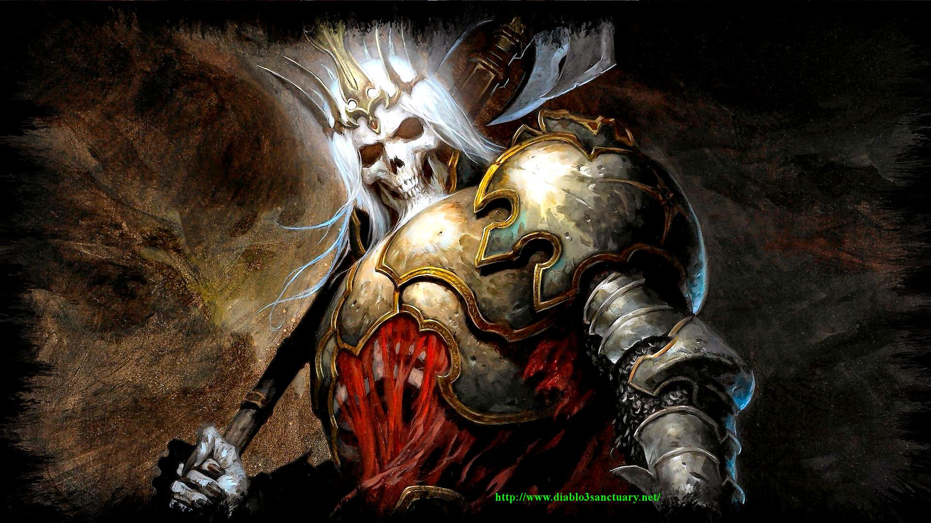 Skeleton King Diablo 3 Wallpapers Hd Free 390640 Diablo