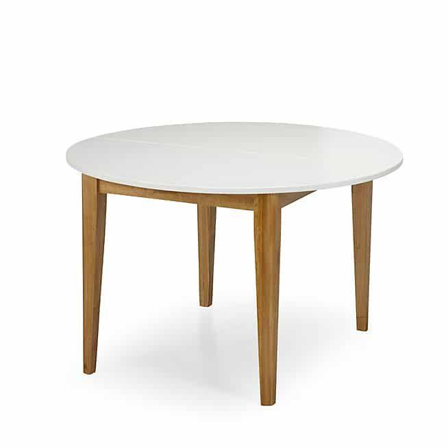 Grande Table A Manger Avec Rallonge: Siwa Table De Repas Ronde D120cm Avec Allonge
