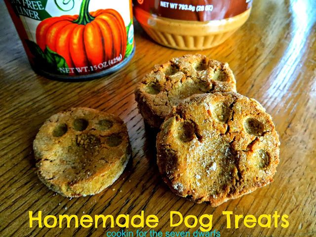 Cookin For The Seven Dwarfs Homemade Dog Treats Homemade Dog