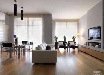 Divisorio+cucina+soggiorno+vetro | case | Arredamento ...