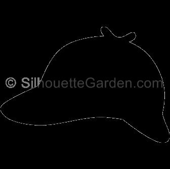 Detective Hat Silhouette Silhouette Clip Art Detective Character Design