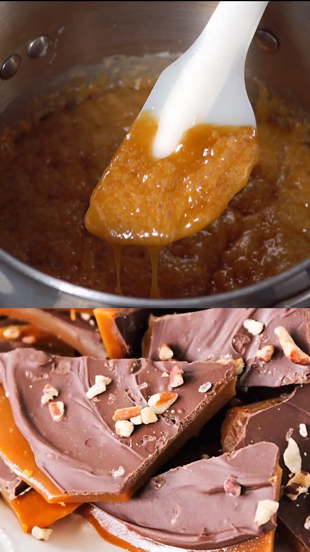 The BEST Homemade Toffee