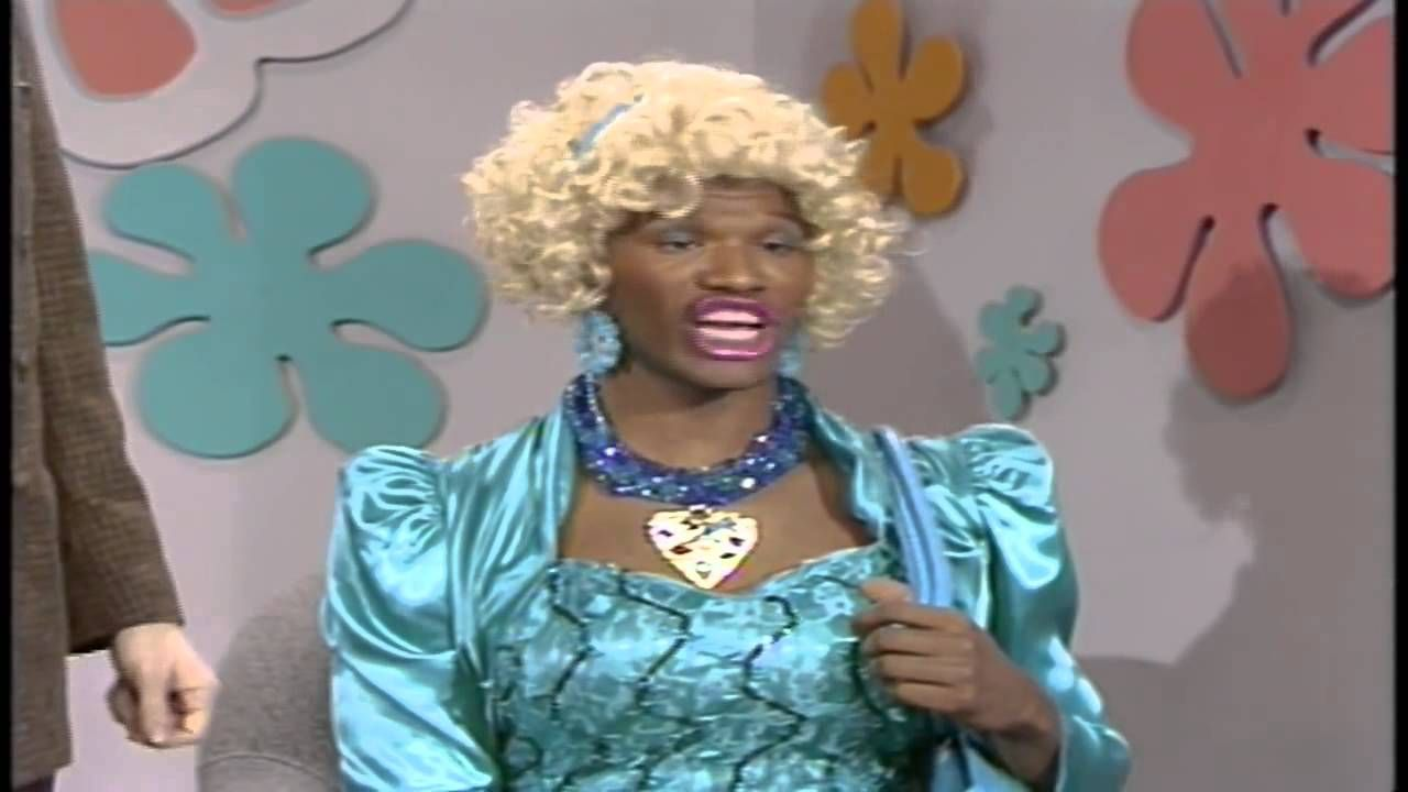 Wanda the dating game in living color