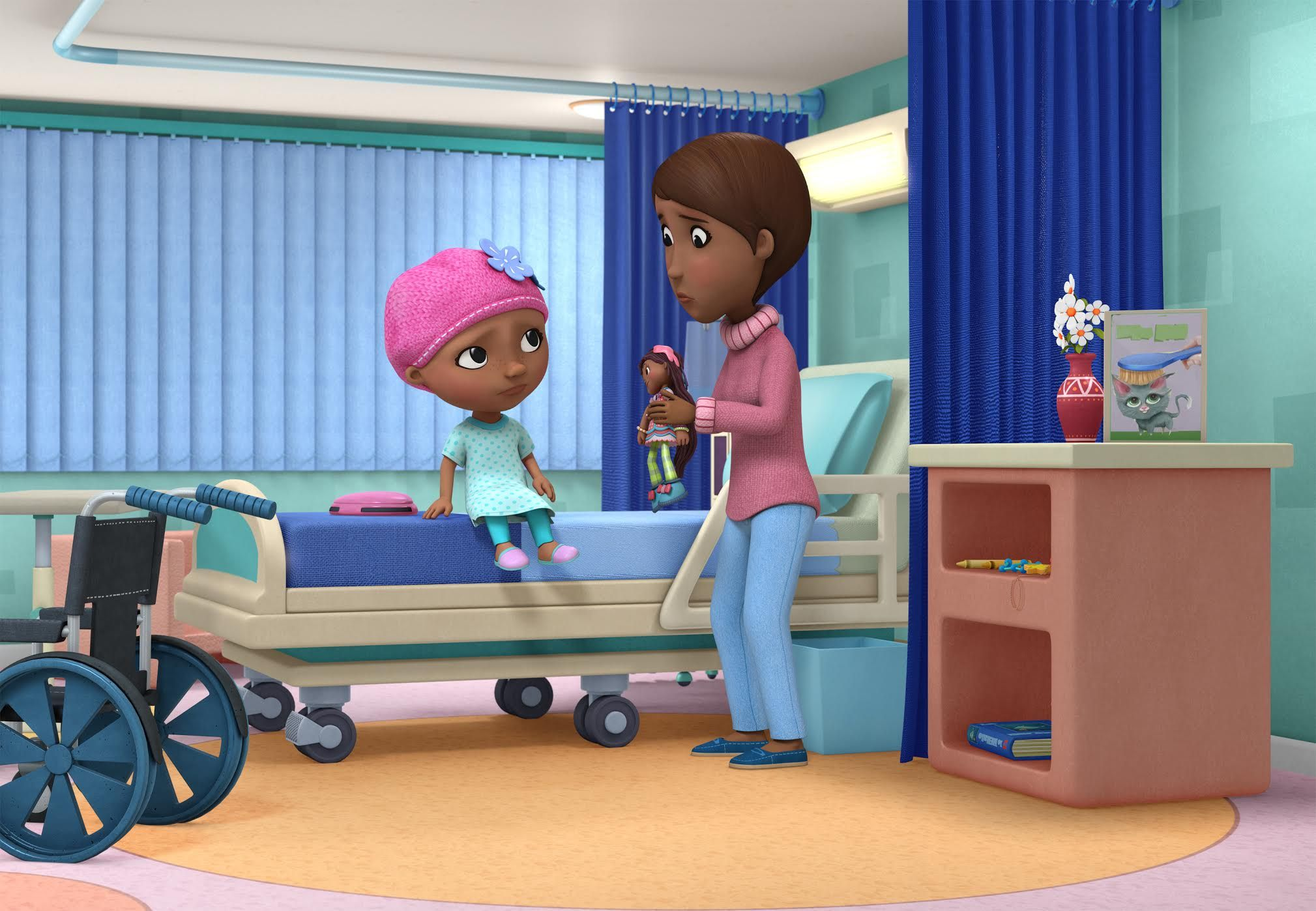 Robin Roberts Guest Stars in a Special Episode of Disney Junior's 'Doc McStuffins,' Premiering on National Cancer Survivors Day, Sunday, June 4