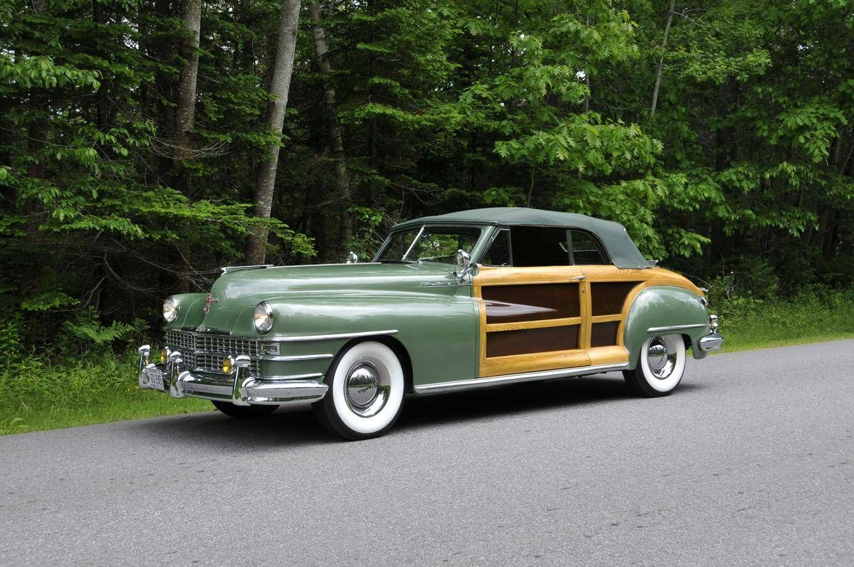 1948 chrysler town country convertible chrysler pinterest auction chrysler new yorker. Black Bedroom Furniture Sets. Home Design Ideas
