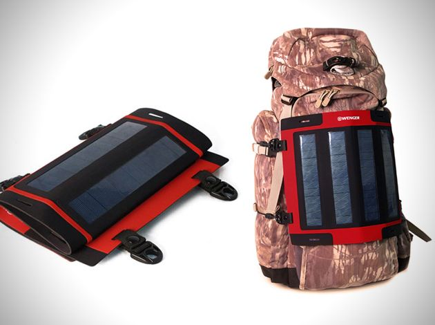 Wenger Portable Solar Charger With Images Solar Energy Diy Solar Charger Portable Solar Charger