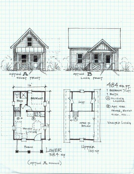 Cabin For Anyone Wondering These Design Plans Are Free They Were Shared Online For Free And I Am Small Cabin Plans Small House Floor Plans Loft Floor Plans