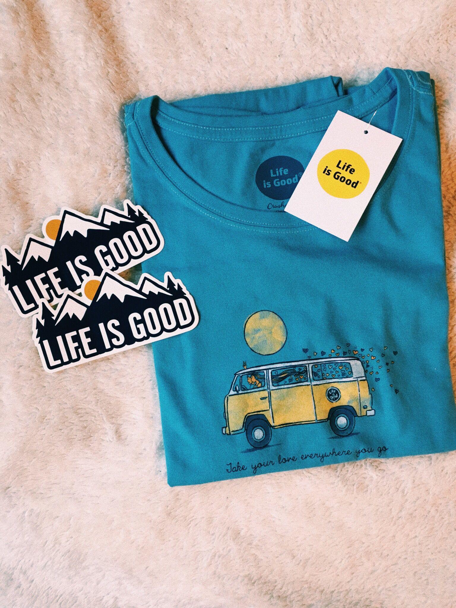 #lifeisgood #tshirt #vans