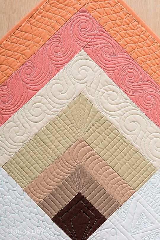 Find the Perfect Quilting Design | Quilting designs, Triangles and ... : quilting border designs free - Adamdwight.com