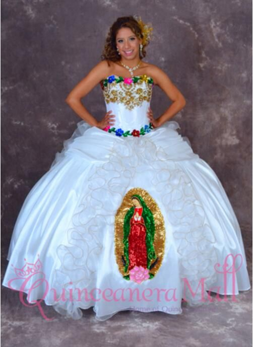 2c1549e23d Pin by Girl Quinceanera on Mexican quinceañera dresses