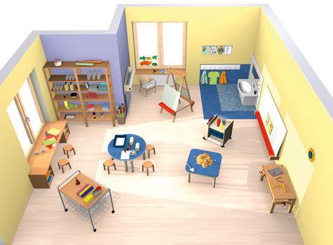 kreativraum forschen kreativit t raumkonzepte kinder unter 3 wehrfritz gmbh kita. Black Bedroom Furniture Sets. Home Design Ideas