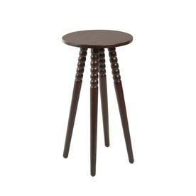 Cheyenne Products Benjamin Dark Brown Wood End Table Cpft1258a In