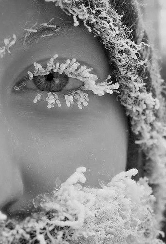 снежинка на губах картинка пользователь