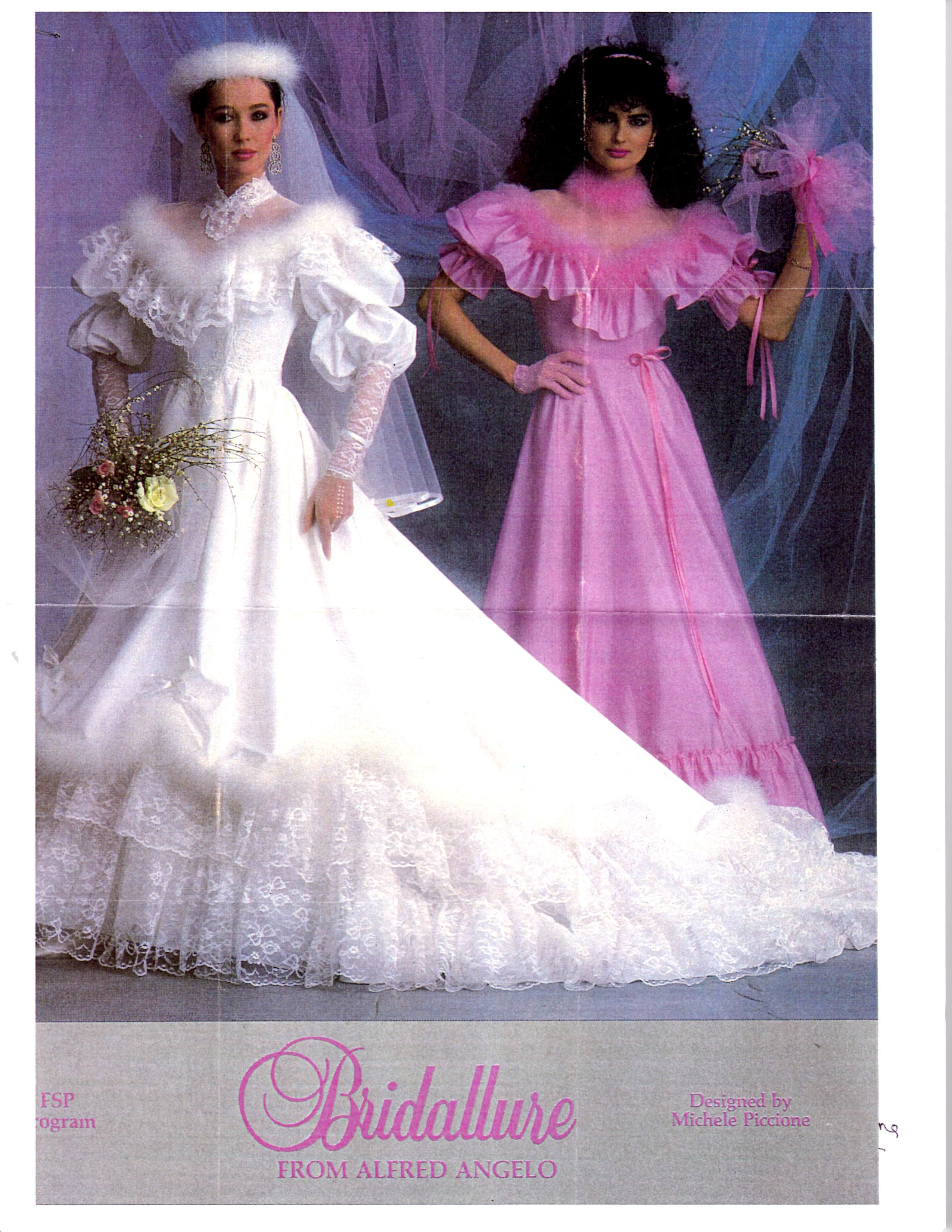 Alfred Angelo Dream Maker Spring of 1992 found in Magzine | 1990's ...