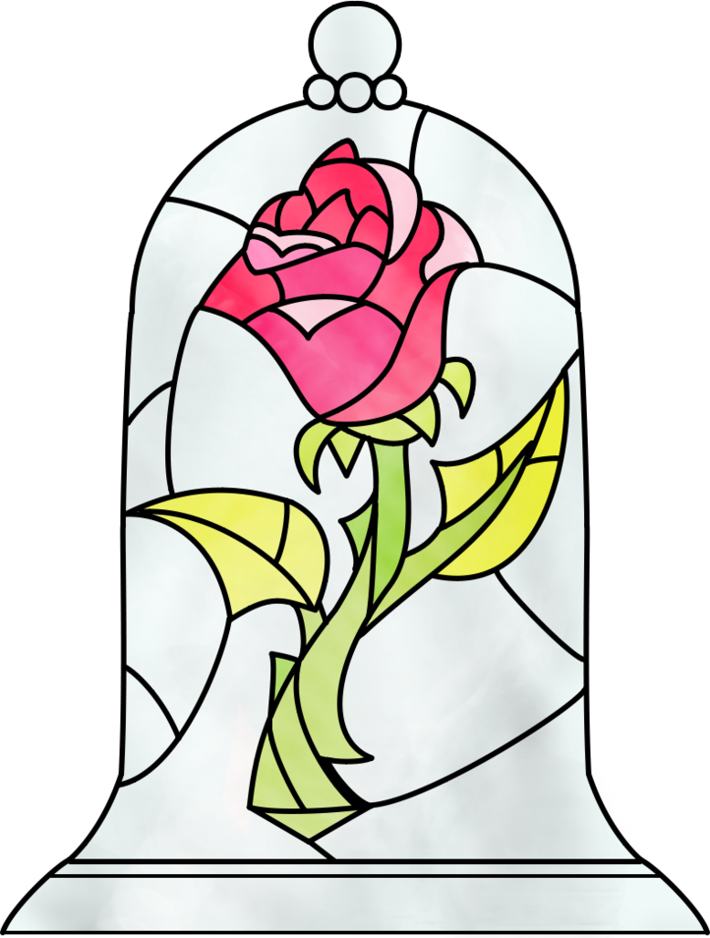 Beauty And The Beast Rose By Dosiguales On Deviantart Beauty