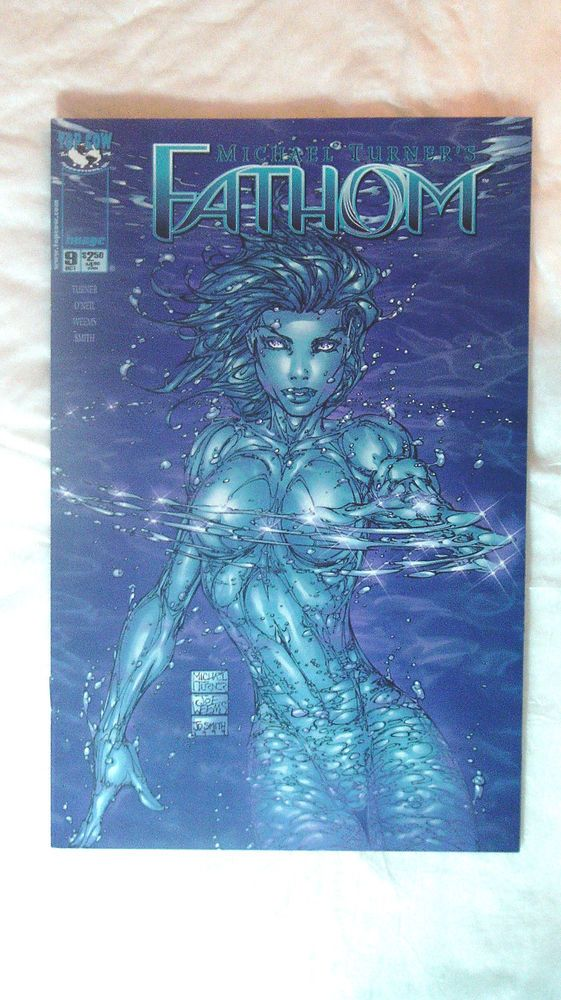 MICHAEL TURNER'S(FATHOM)VOL.1,ISSUE 9,OCTOBER 1999,FIRST PRINTING -IMAGE COMICS