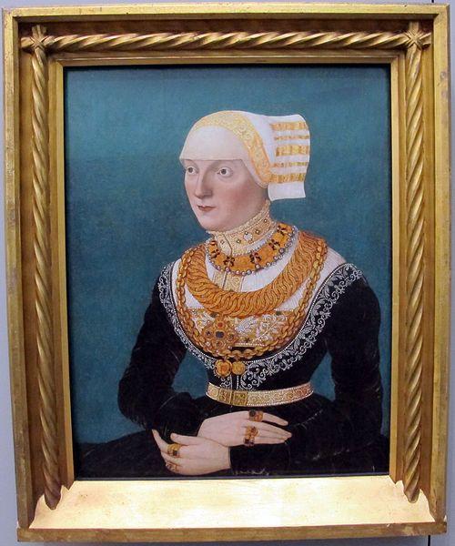File:Conrad faber von kreuznach, ritratto femminile, 1515.JPG