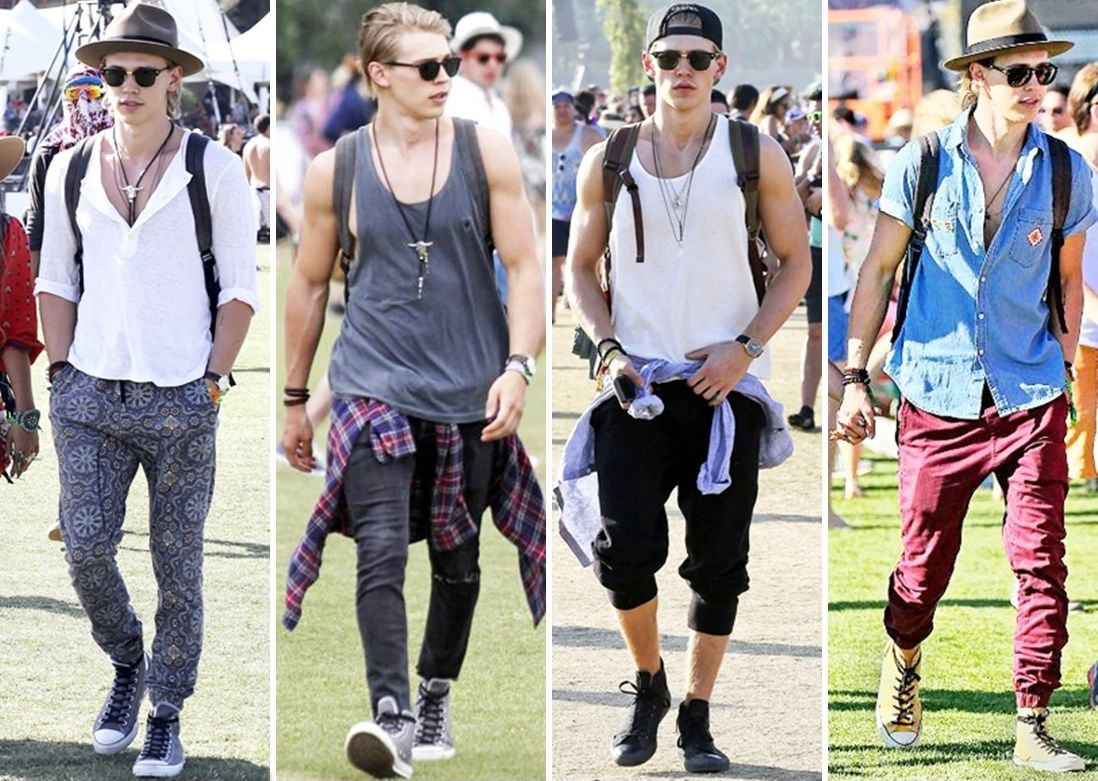 Austin Butler Style Coachella | Urban Fashion | Pinterest | Austin butler Coachella and Butler