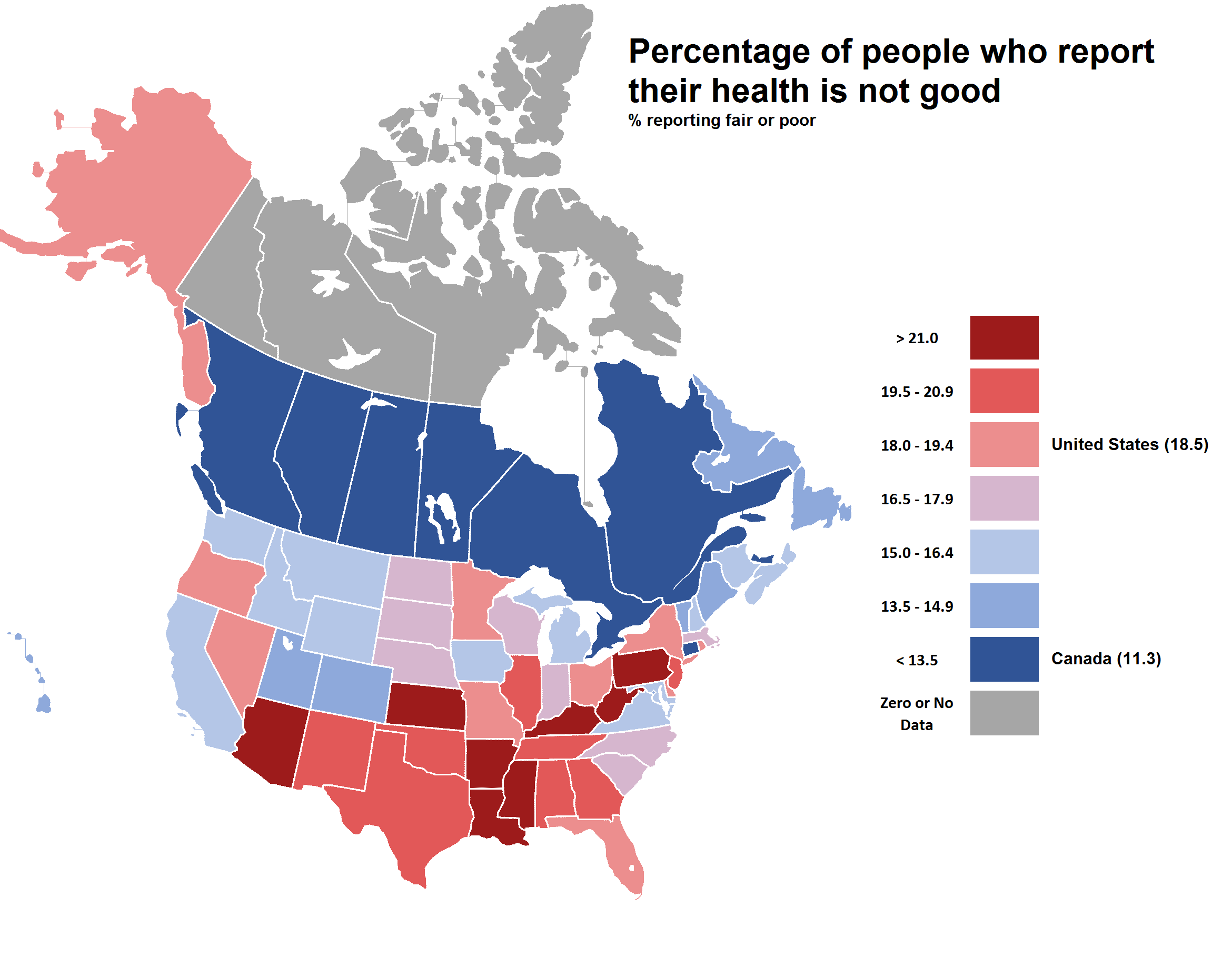 Mapping U.S. State and Canadian Province data. Part 31