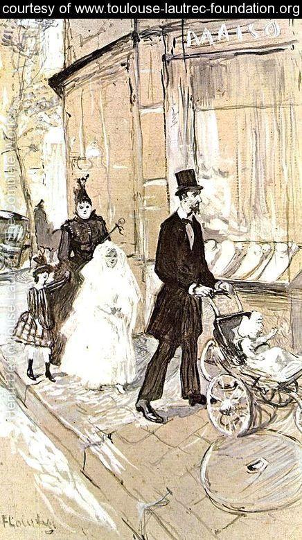 First Comunion - Henri De Toulouse-Lautrec - www.toulouse-lautrec-foundation.org