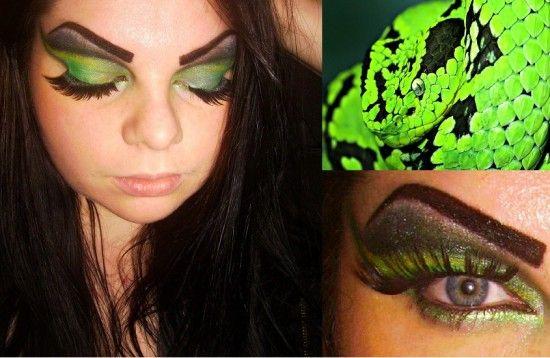 Snake Eye Makeup Geek