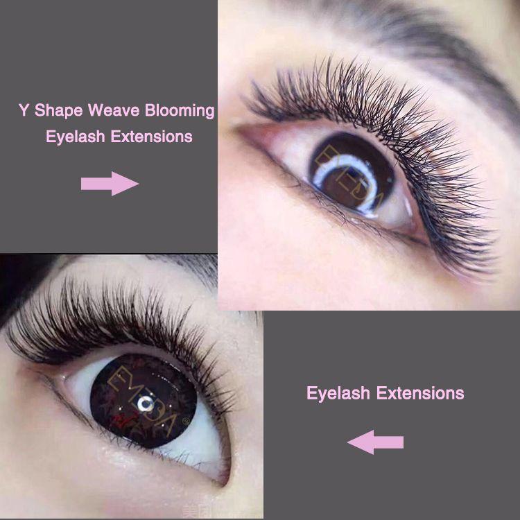 Y Shape Premade Volume Lash Rapid Blooming Eyelash