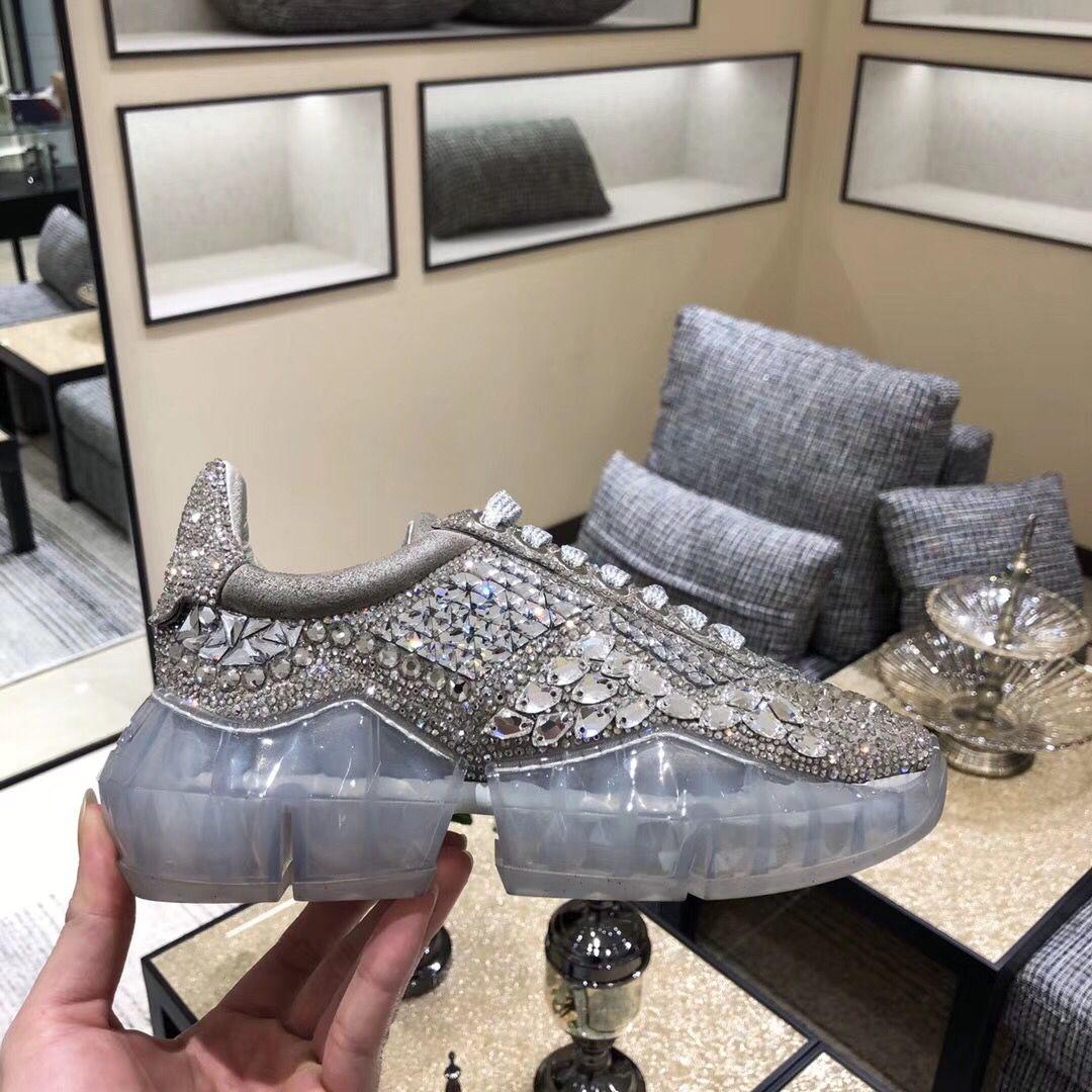 Jimmy choo crystal sneaker   Sneakers