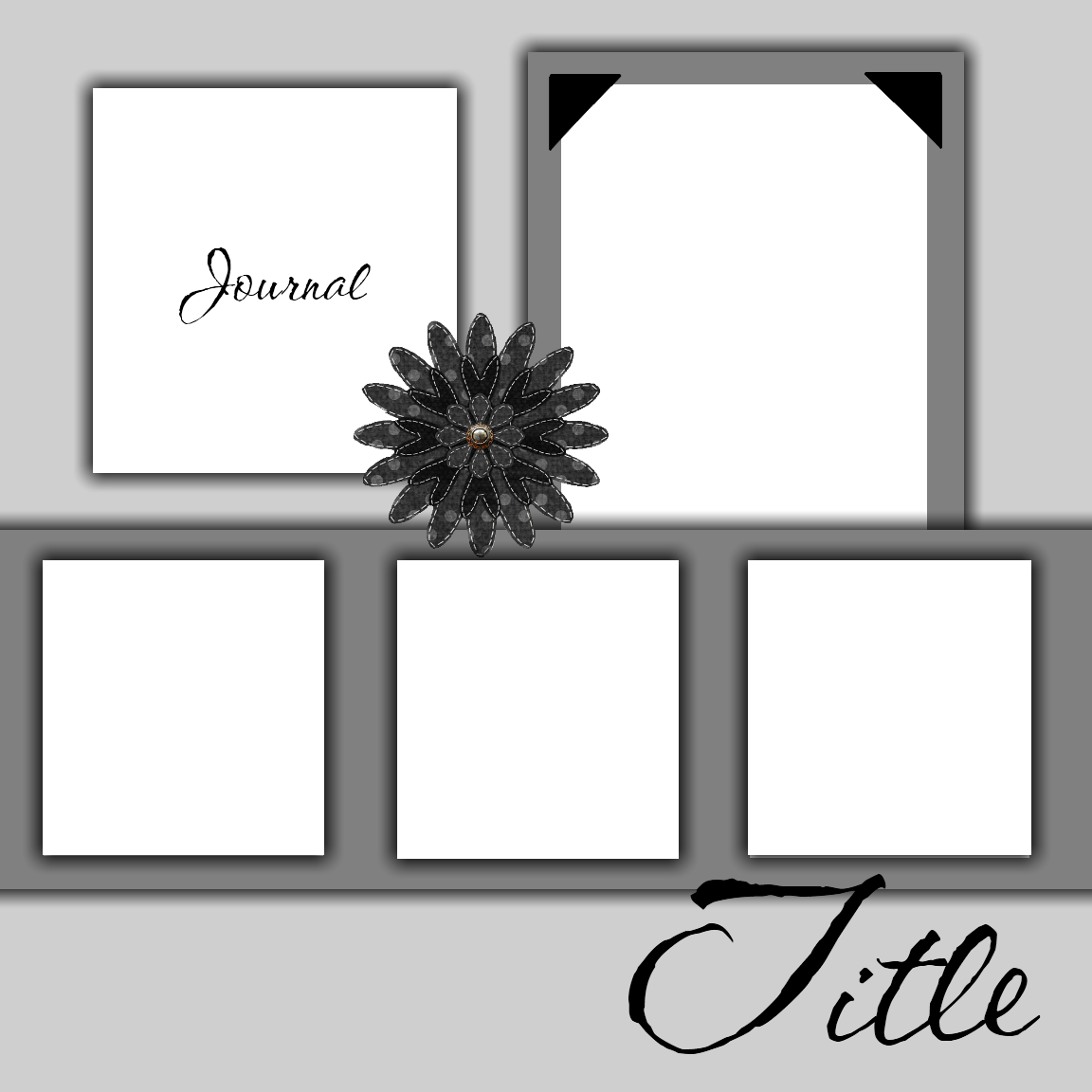 Free Printable Scrapbook Layout Templates | Free Scrapbook ...