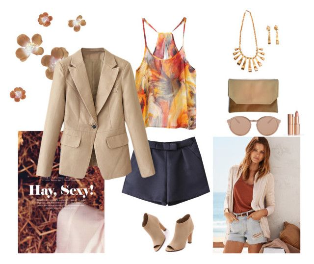 10 by vacaclaudia on Polyvore featuring Vince, Linda Farrow Luxe and H&M