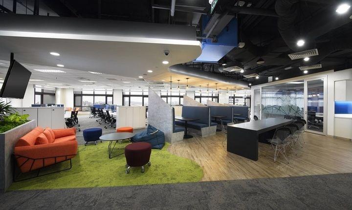 ge office by steven leach group kuala lumpur malaysia retail design blog - Malaysia Interior Design Blog