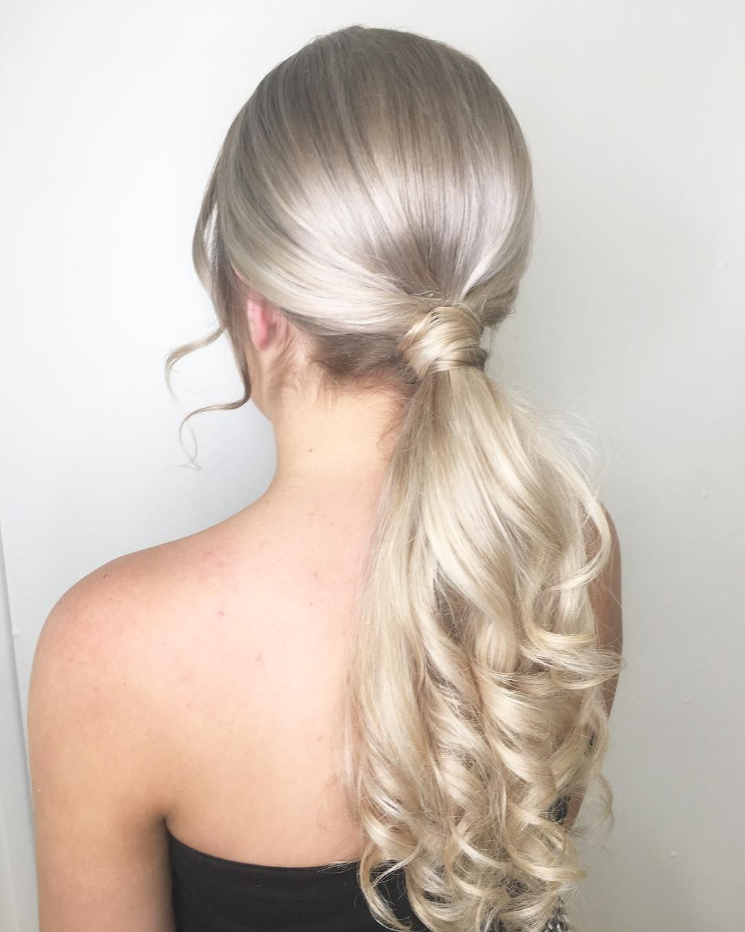 Formal Hair - The Ponytail | Hair, Wedding hairstyles, Long hair styles
