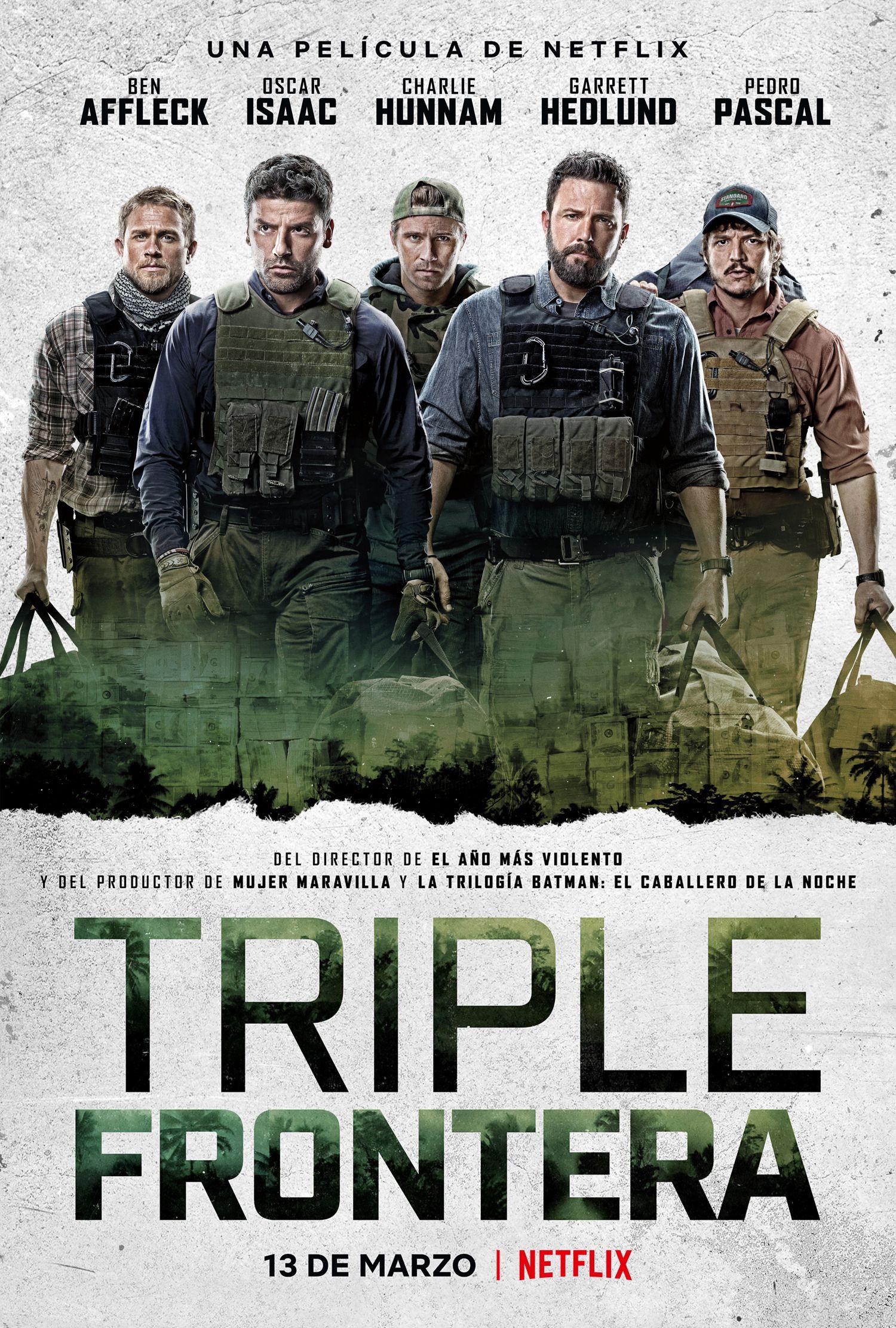 Triple Frontera Triple Frontier Frontier Netflix Free Movies Online Garrett Hedlund
