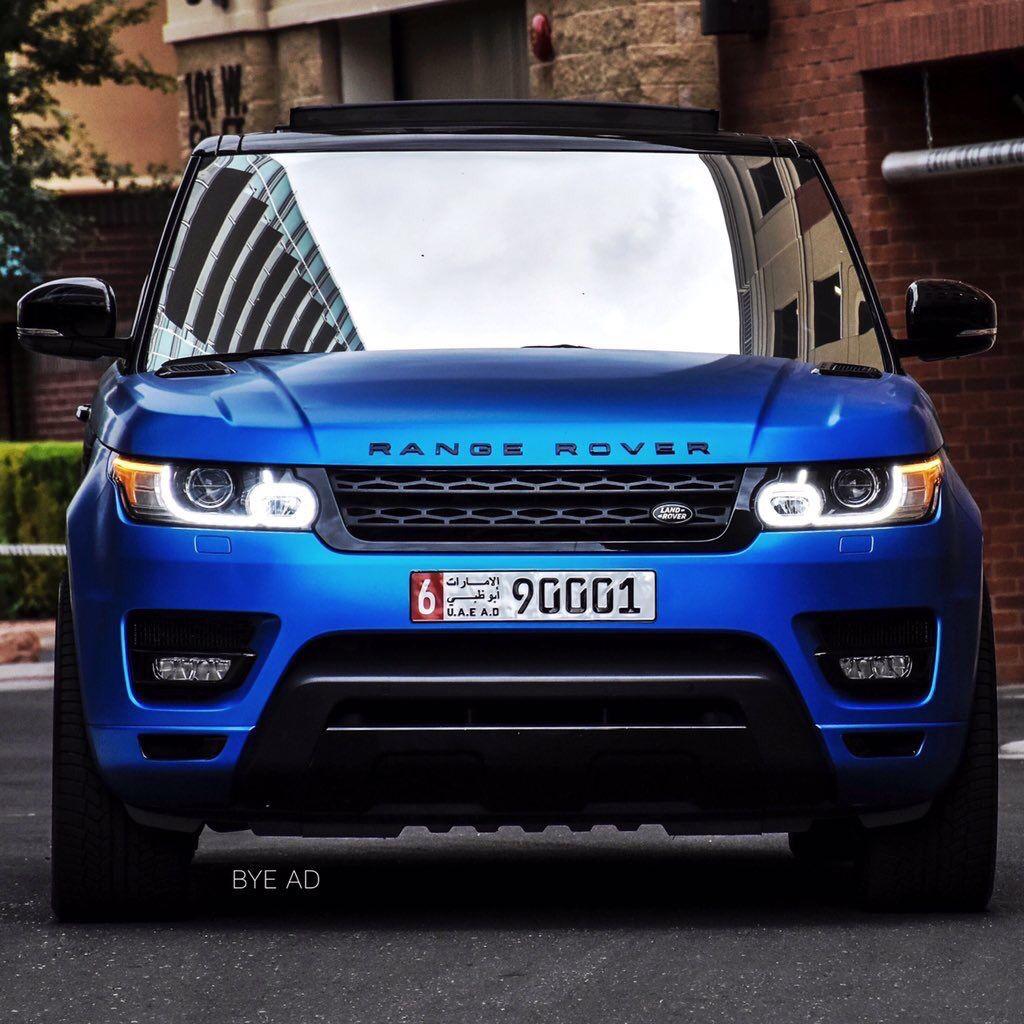 Matte Blue Range Rover Range Rover Car Range Rover Svr Range Rover